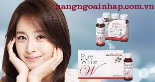 Nước trắng da Collagen Pure White của Shiseido