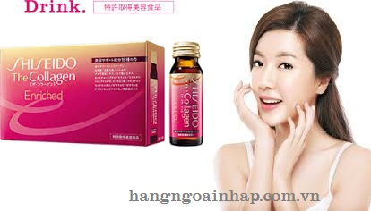 Collagen dạng nước uống Enriched dành cho phụ nữ tuổi 40
