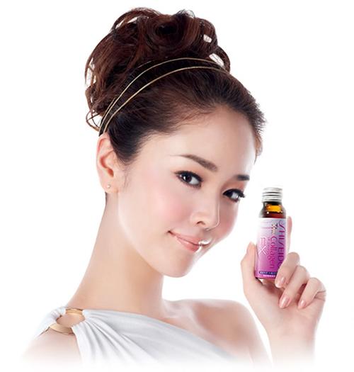Collagen Shiseido EX dạng nước chứa 200mg collagen/ liều dùng