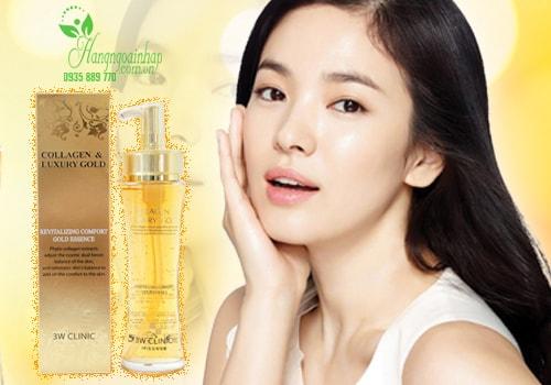 Tác dụng của Collagen luxury gold 3w clinic – phái đẹp phải ngỡ ngàng