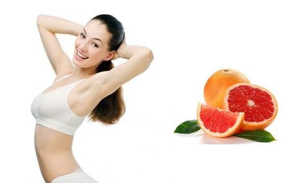 Giảm cân nhanh chóng bằng cách ăn bưởi