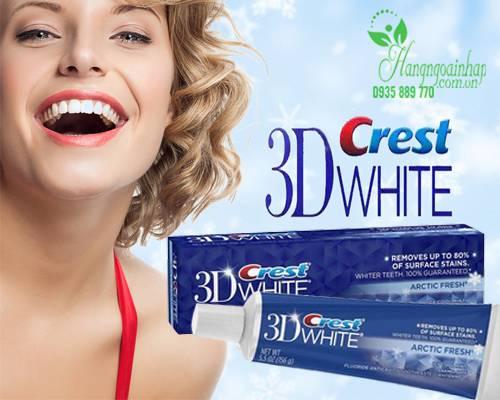 Kem đánh răng 3D Crest White giá bao nhiêu?