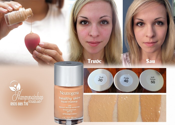 New Neutrogena Healthy Skin Liquid