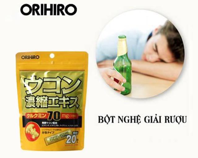 Thuốc giải rượu Nhật Bản Ukon Orihiro mua ở đâu chính hãng?