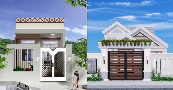 43 mẫu nhà đẹp mê ly với chi phí xây chỉ từ 100 triệu cho các cặp vợ chồng trẻ
