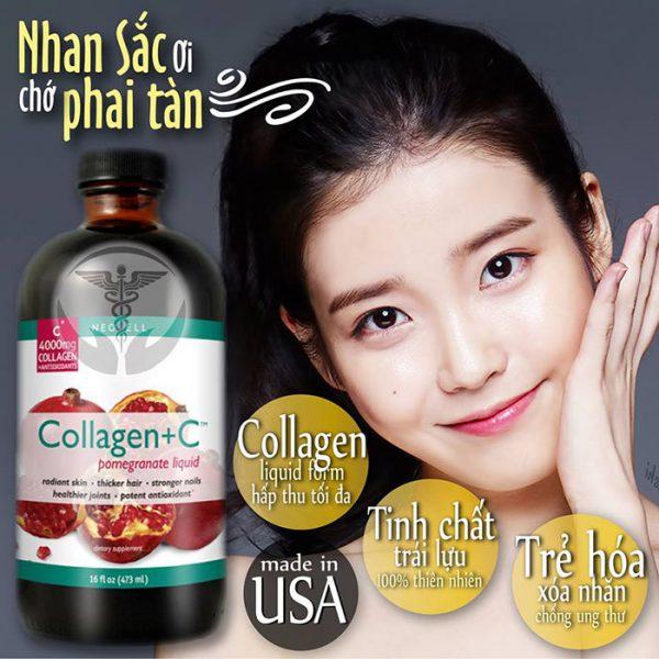 Neocell Collagen C Chiết xuất từ quả lựu dạng nước mình đang dùng và nó có thực sự tốt không