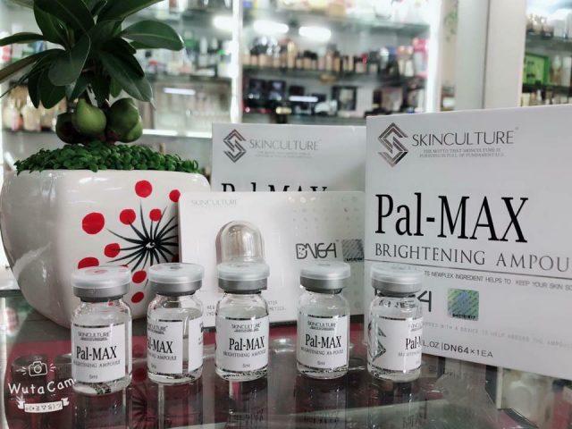 Pal-max brightening ampoule cấy trắng su thế làm đẹp mới của CE