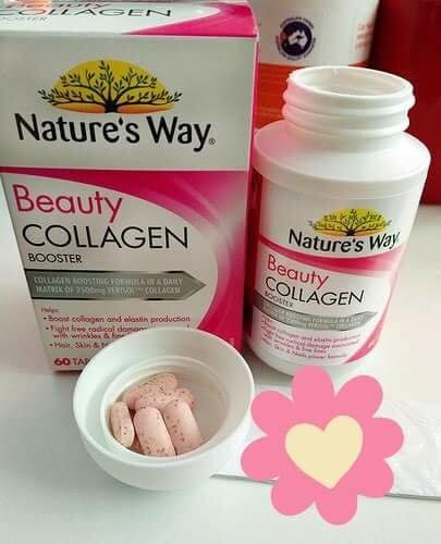 Nature's way beauty collagen booster ÚC Review tốt không từ CE 1