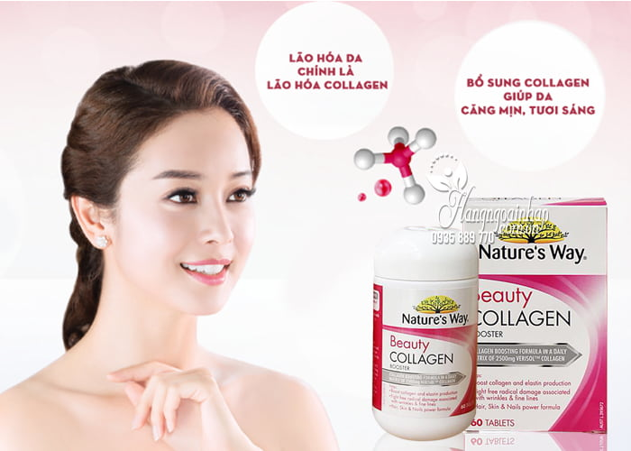 Nature's way beauty collagen booster ÚC Review tốt không từ CE 2