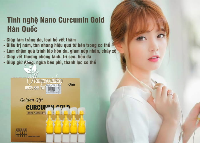 tinh nghệ Nano Curcumin Gold