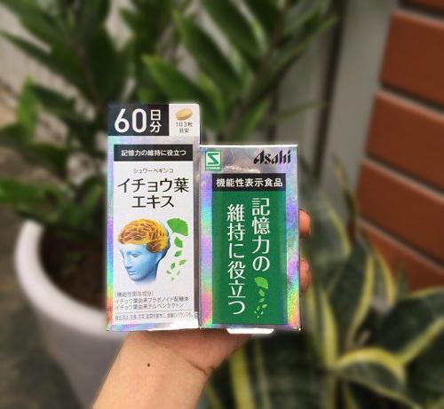 Thuốc bổ não Asahi