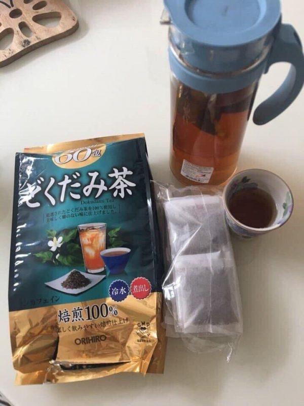 cách pha trà diếp cá Orihiro ảnh 1
