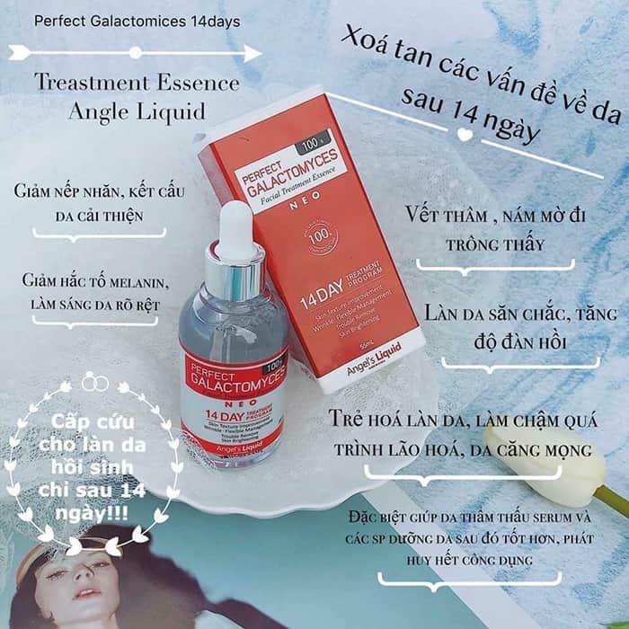 Tinh chất Angel's Liquid Perfect Galactomyces 14 Days Treatment Essence