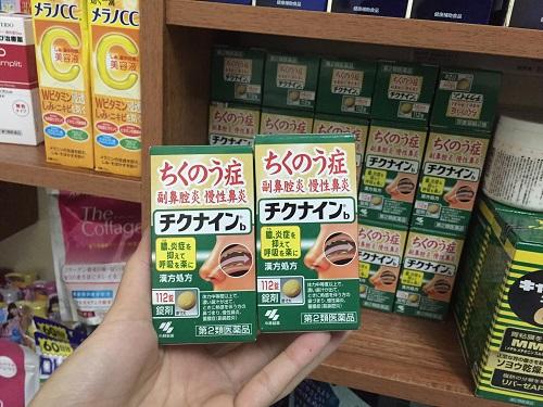 Thuốc viêm xoang Kobayashi Chikunain của Nhật có tốt không?