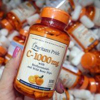 Viên uống vitamin C Puritan's Pride có tốt không-1