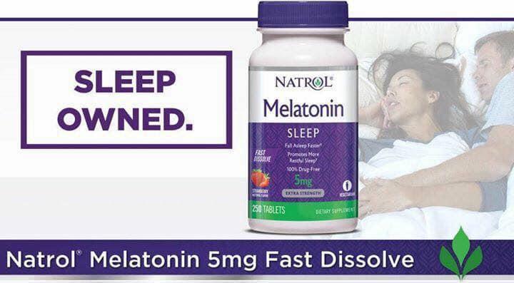 Thuốc natrol melatonin có tốt không?