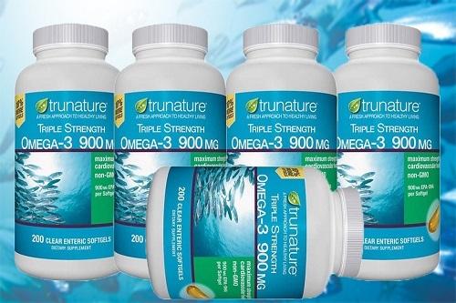 Viên uống dầu cá Omega-3 Trunature Triple Strength có tốt không?