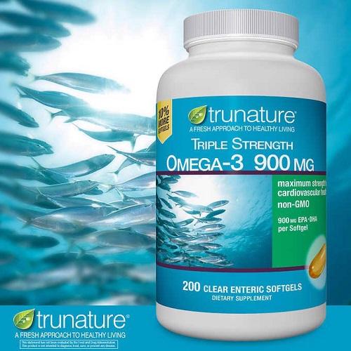 Viên uống dầu cá Omega-3 Trunature Triple Strength có tốt không-2