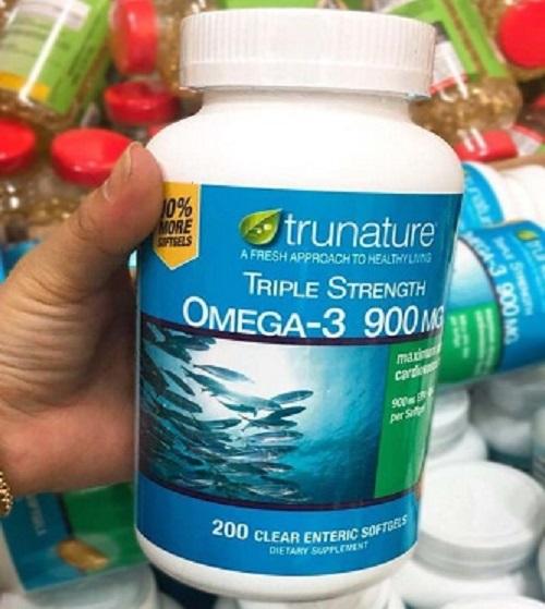 Viên uống dầu cá Omega-3 Trunature Triple Strength có tốt không-3
