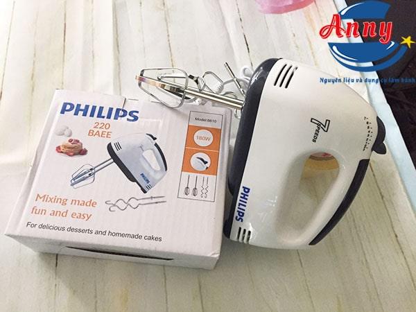 máy đánh trứng bột cầm tay philips 6610 ANNY