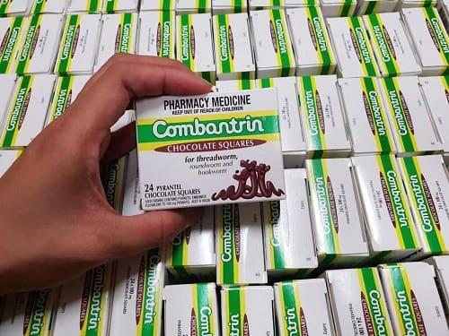 Thuốc tẩy giun Combantrin của Úc có tốt không?
