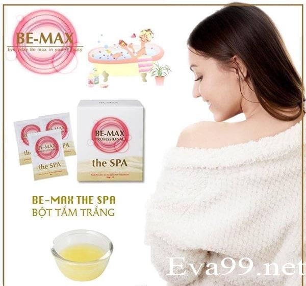 Công dụng bột tắm trắng be-max the spa bath powder