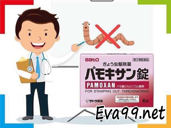 Hướng dẫn cách sử dụng thuốc tẩy giun pamoxan: