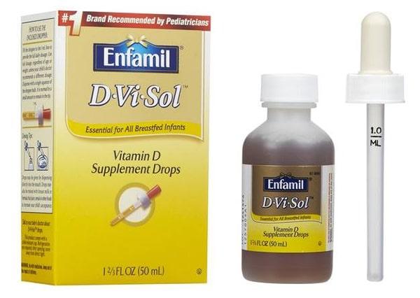 Vitamin d của enfamil