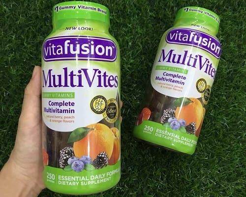 Kẹo vitamin Vitafusion MultiVites 250 viên có tốt không?