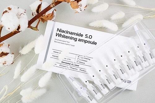Tinh chất serum Niacinamide Whitening Ampoule có tốt không?
