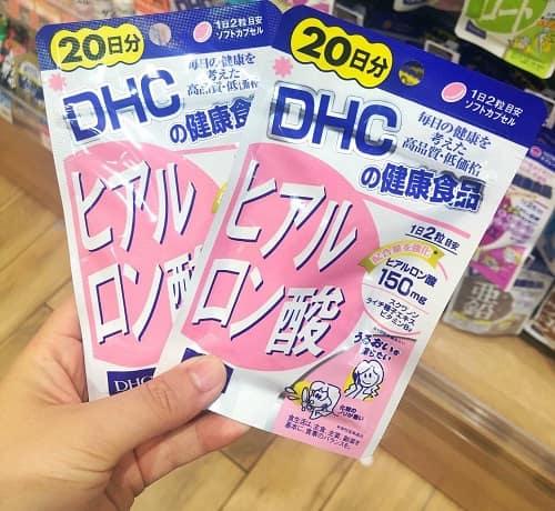 Viên uống cấp nước Hyaluronic Acid DHC có tốt không?