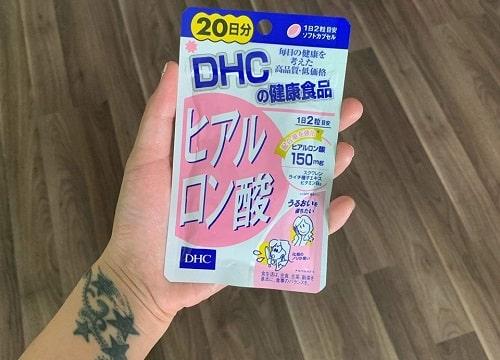 Viên uống cấp nước Hyaluronic Acid DHC có tốt không-2