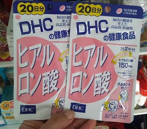 Viên uống cấp nước Hyaluronic Acid DHC có tốt không-3