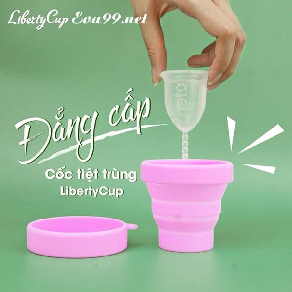 Review cốc nguyệt san liberty cup có tốt không từ chuyên gia