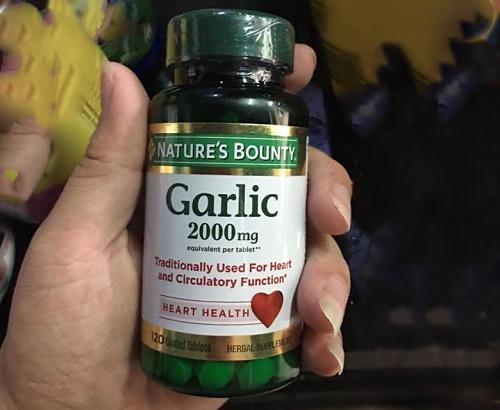 Tinh dầu tỏi Garlic 2000mg Natures Bounty có tốt không-2
