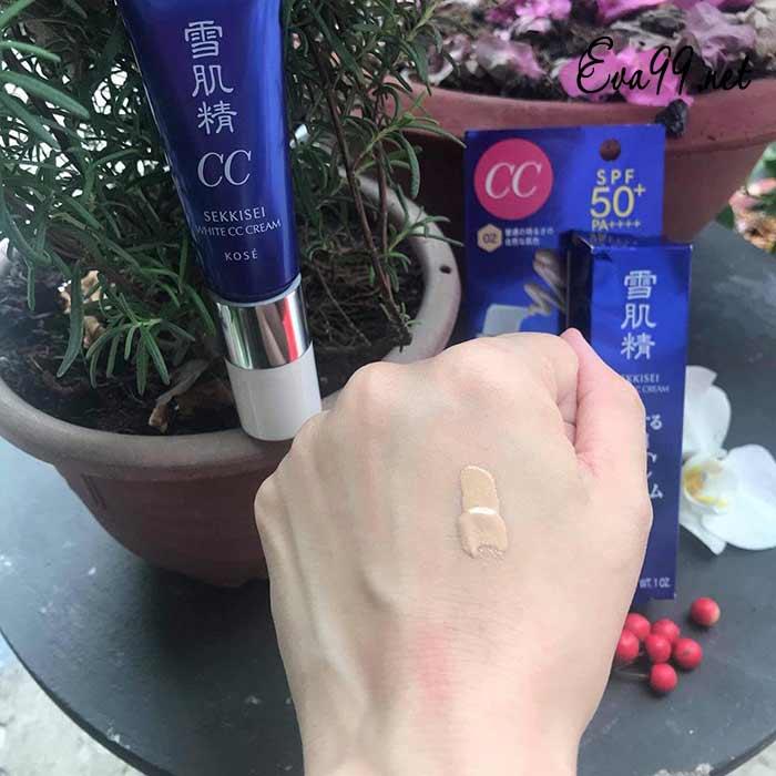 Review cc cream sekkisei có tốt không? Chính xác từ chuyên gia 1