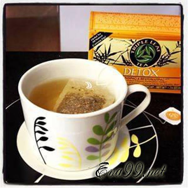 Trà detox triple leaf tea review có tốt không? và giá bán chuẩn nhất 1