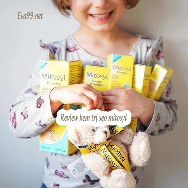 Review kem trị sẹo mitosyl có tốt không? Chính hãng của Pháp