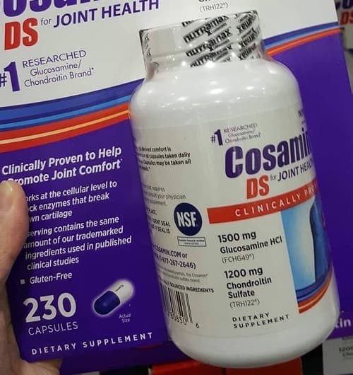 Viên uống Cosamin DS for Joint Health review chi tiết
