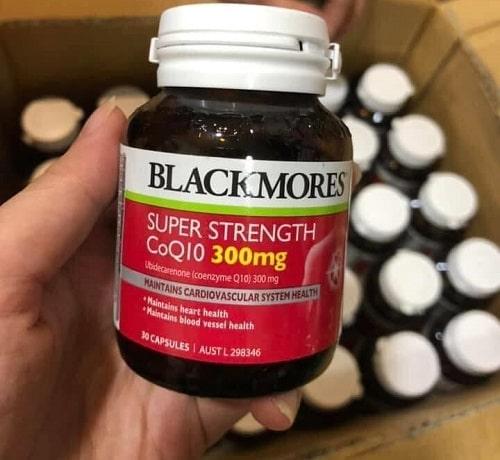 Review thuốc tim mạch Blackmores Super Strength Coq10 300mg-2