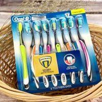 Set 8 bàn chải đánh răng Oral-B Cross Action Advanced có tốt không-1