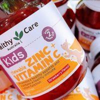 Viên nhai Healthy Care Kids Zinc + Vitamin C có tốt không-1