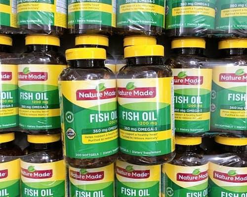 Viên dầu cá Nature Made Fish Oil 1200mg có tốt không?