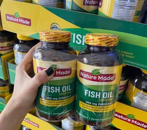 Viên dầu cá Nature Made Fish Oil 1200mg có tốt không-2