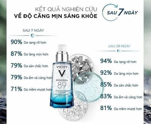 Review tinh chất khoáng cô đặc Vichy Mineral 89-4