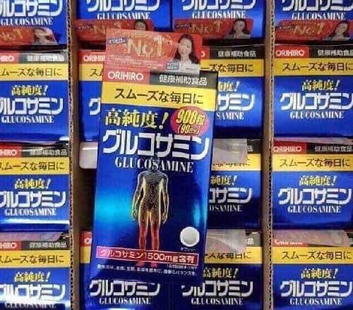 Thuốc bổ xương khớp Orihiro Glucosamine review