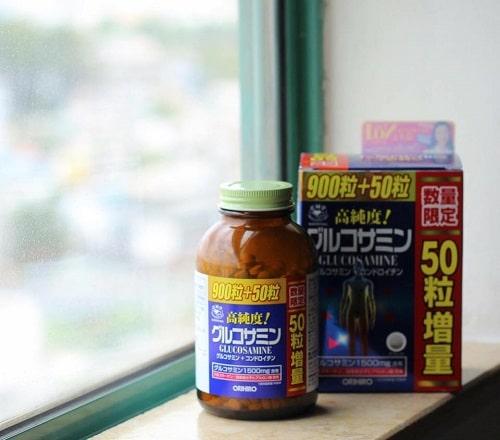 Thuốc bổ xương khớp Orihiro Glucosamine review-2