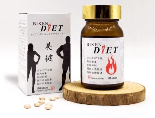 Review viên uống giảm cân Biken Diet của Nhật-2