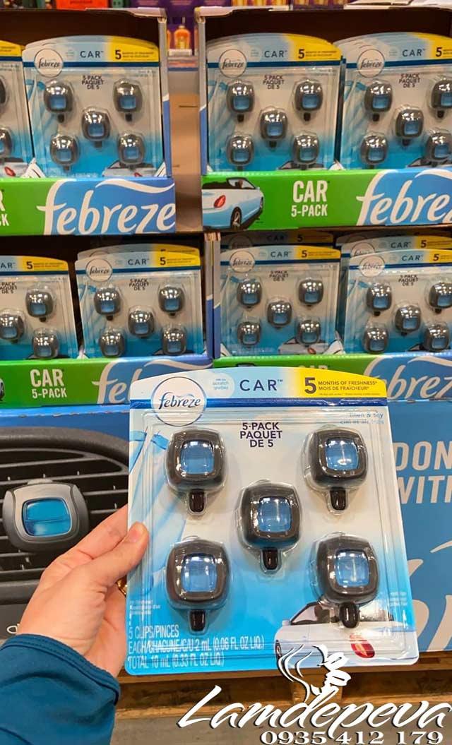 Nước hoa Febreze Car giá bao nhiêu và mua ở đâu uy tín