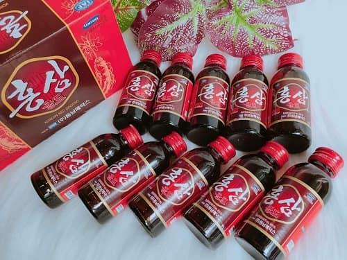 Công dụng nước hồng sâm Korean Red Ginseng là gì?